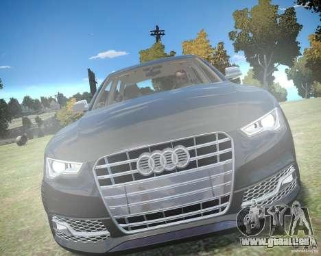 Audi A6 Avant Stanced pour GTA 4 est une gauche