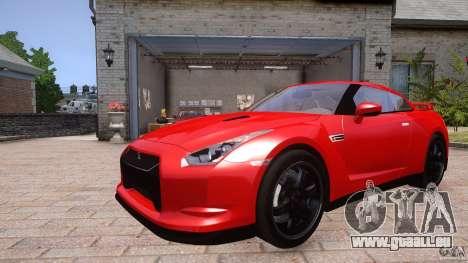 Nissan GTR R35 v1.0 für GTA 4