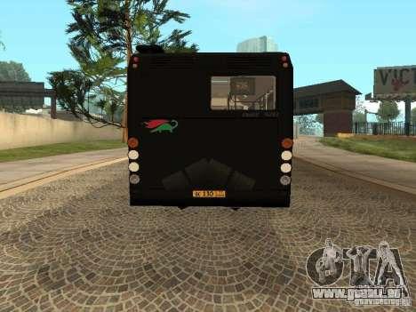 Remorque pour Liaz 6213.70 pour GTA San Andreas laissé vue