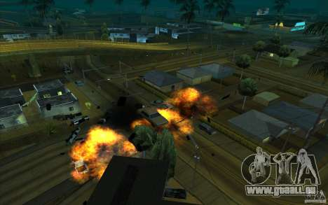 Dessin pour GTA San Andreas sixième écran