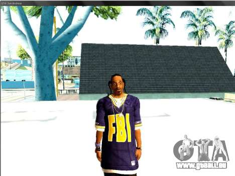 Snoop DoG le F.B.I. pour GTA San Andreas deuxième écran