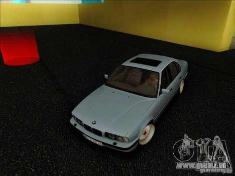 BMW 5 series E34 pour GTA San Andreas vue arrière