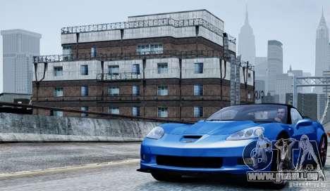 Chevrolet Corvette ZR1 für GTA 4 Innenansicht