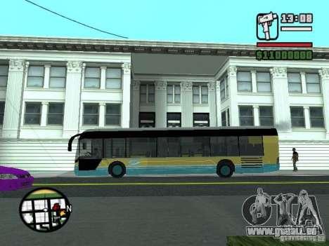 CitySolo 12 für GTA San Andreas zurück linke Ansicht