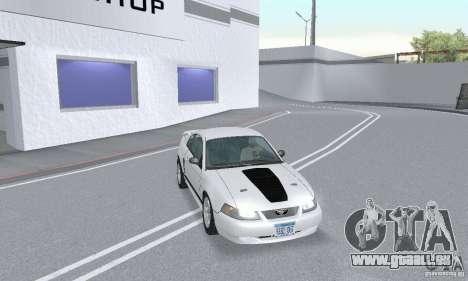 Ford Mustang GT 2003 pour GTA San Andreas vue intérieure