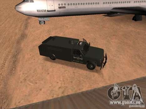 GMC SIERRA 3500 für GTA San Andreas Rückansicht
