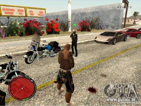 GTA IV HUD v1 by shama123 pour GTA San Andreas cinquième écran