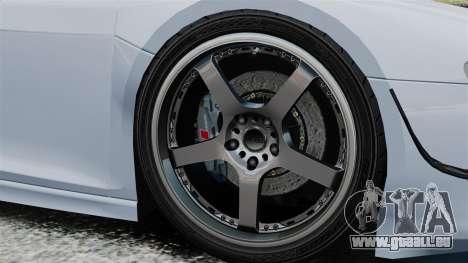 Audi R8 Spider Body Kit Final für GTA 4 Seitenansicht