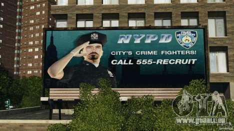 Remake second police station pour GTA 4 sixième écran