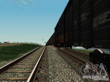Boxcar für GTA San Andreas linke Ansicht