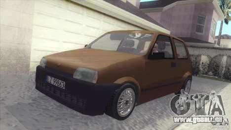 Fiat Cinquecento für GTA San Andreas