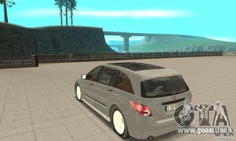 Mercedes-Benz R-Class pour GTA San Andreas sur la vue arrière gauche