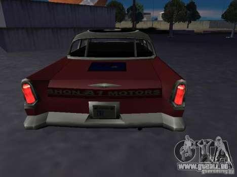 Bloodring Banger (A) de Gta Vice City pour GTA San Andreas sur la vue arrière gauche