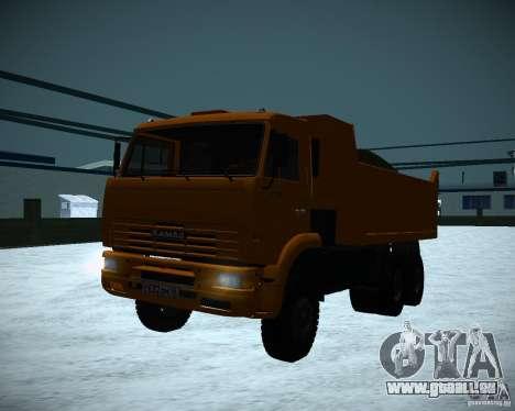 KAMAZ-6520-Kipper für GTA San Andreas