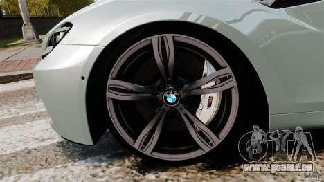 BMW M6 für GTA 4 obere Ansicht