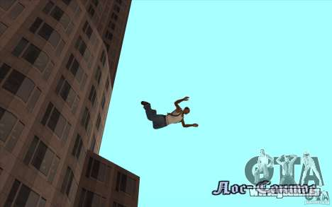 Parachute pour GTA San Andreas cinquième écran
