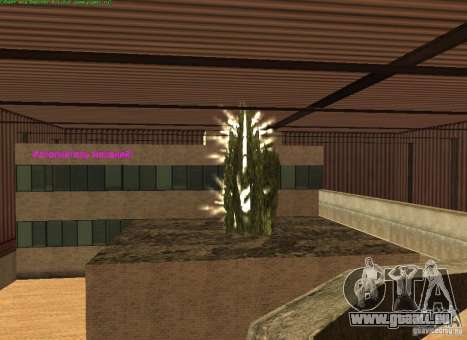 Chernobyl c. 1 pour GTA San Andreas deuxième écran