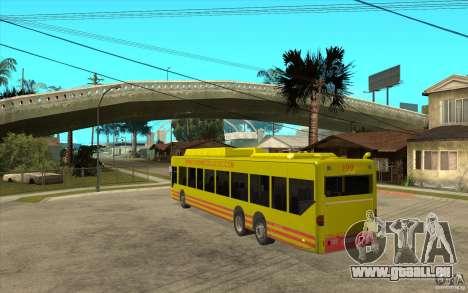 Mercedes Benz Citaro L für GTA San Andreas zurück linke Ansicht