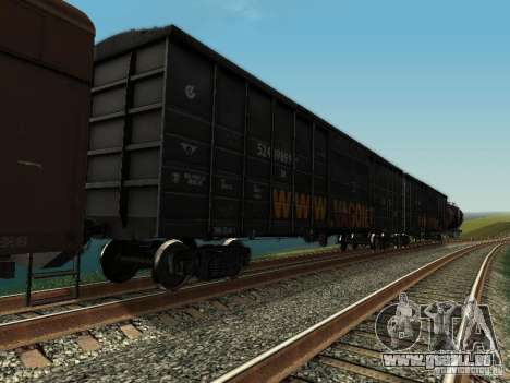 Wagon couvert pour GTA San Andreas