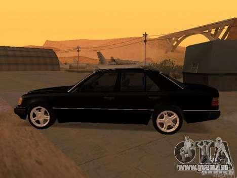 Mercedes-Benz E250 V1.0 pour GTA San Andreas vue de dessus
