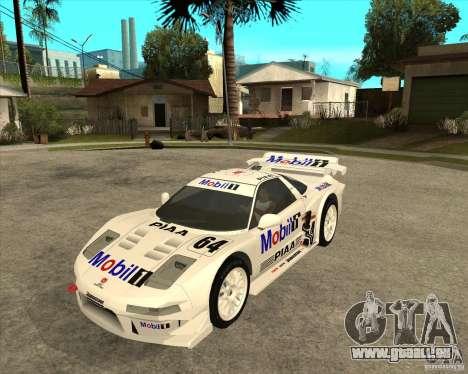 2001 Honda Mobil 1 NSX JGTC pour GTA San Andreas