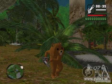Crazy Bear pour GTA San Andreas troisième écran