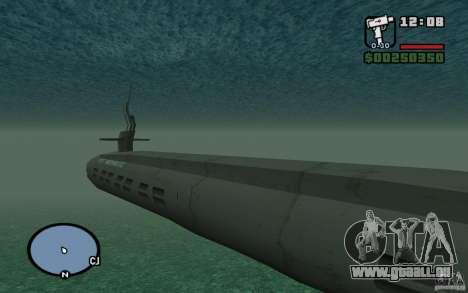 U-Boot für GTA San Andreas