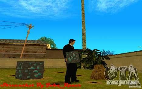 Diamond Erz aus dem Spiel Minecraft für GTA San Andreas