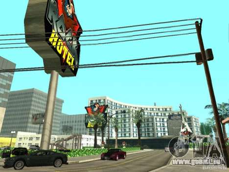 Neue Texturen für V-Rock für GTA San Andreas
