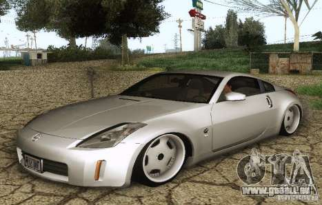 Nissan 350Z Stanceworks für GTA San Andreas