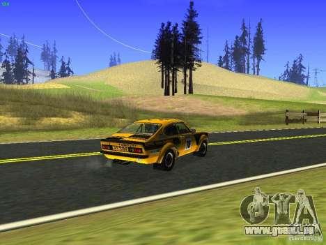 Opel Kadett pour GTA San Andreas vue arrière