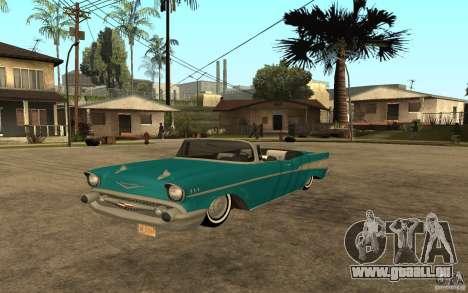 Chevrolet Bel Air 1956 Convertible für GTA San Andreas