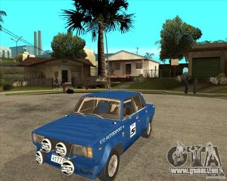 LADA 2105 VFTS Rallye für GTA San Andreas