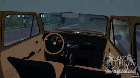 ZAZ 968 m für GTA 4 Rückansicht