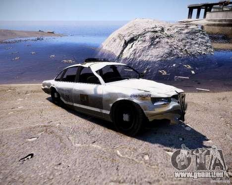 Russian NOOSE Cruiser pour GTA 4 Vue arrière