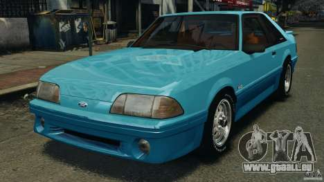Ford Mustang GT 1993 v1.1 pour GTA 4
