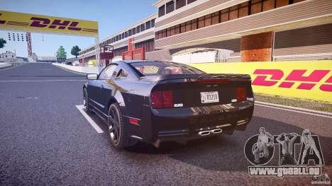 Saleen S281 Extreme Unmarked Police Car - v1.1 für GTA 4 hinten links Ansicht