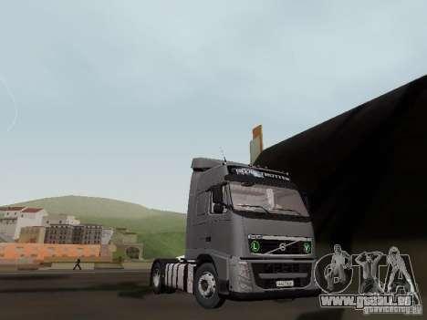 Volvo FH13 Globetrotter für GTA San Andreas Rückansicht