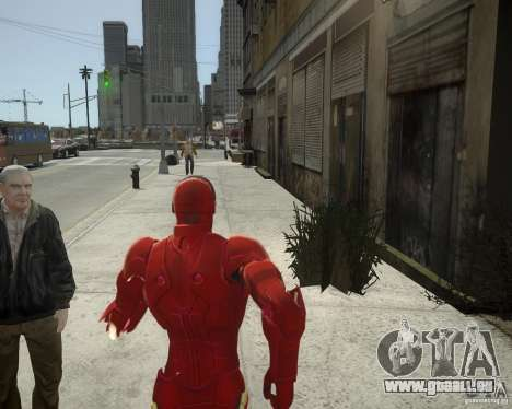 Iron Man Mk3 Suit pour GTA 4 sixième écran