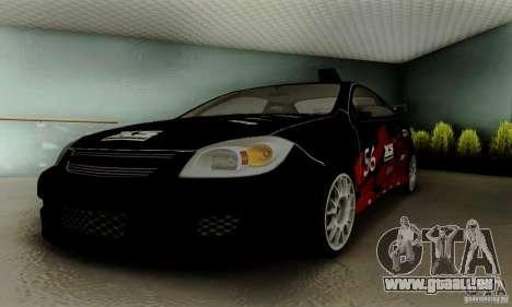 Chevrolet Cobalt SS pour GTA San Andreas moteur