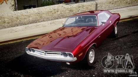 Dodge Challenger 1971 pour GTA 4