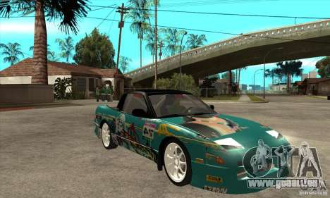 Nissan 200sx from Moscow Drift pour GTA San Andreas vue arrière