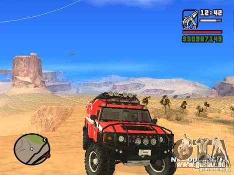 HZS Hummer H2 pour GTA San Andreas