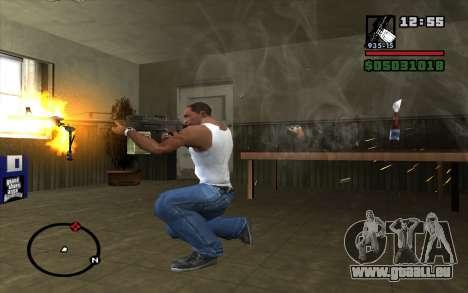 PKP Pecheneg Maschinengewehr für GTA San Andreas dritten Screenshot
