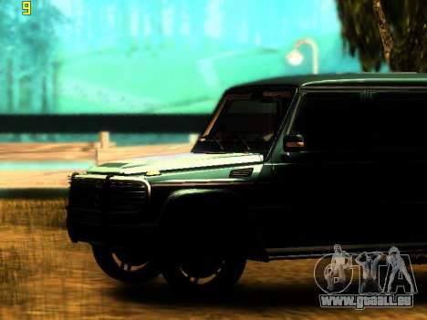 ENBSeries v3 pour GTA San Andreas deuxième écran