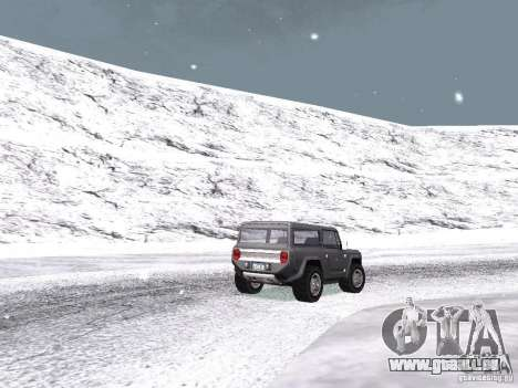 Neige pour GTA San Andreas