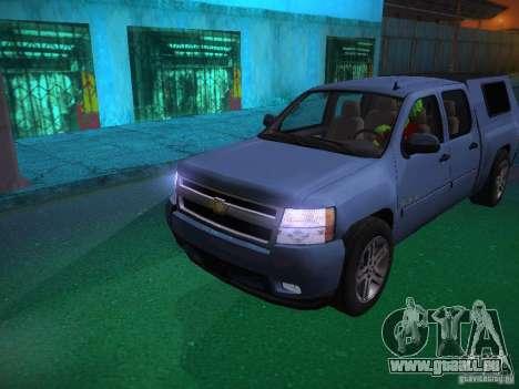Chevrolet Silverado pour GTA San Andreas moteur