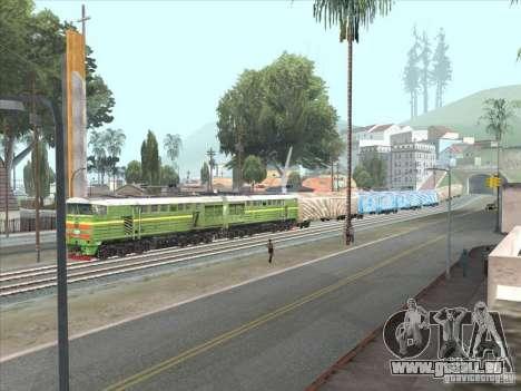 2te10u-0238 pour GTA San Andreas laissé vue