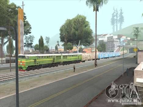 2te10u-0238 für GTA San Andreas linke Ansicht