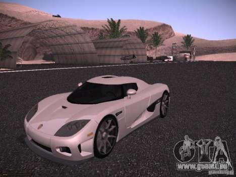 Koenigsegg CCX 2006 für GTA San Andreas
